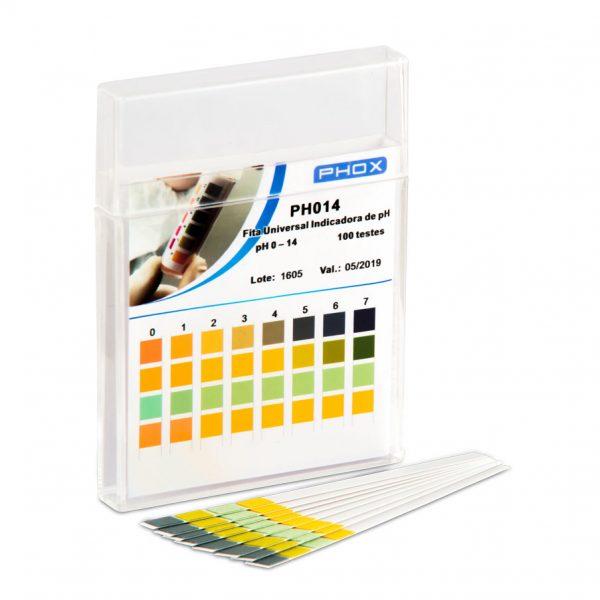 Papel Indicador de pH 0-14